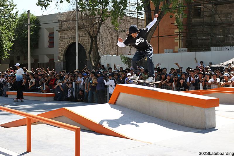 Yael Pratz el integrante más joven de Nike SB México