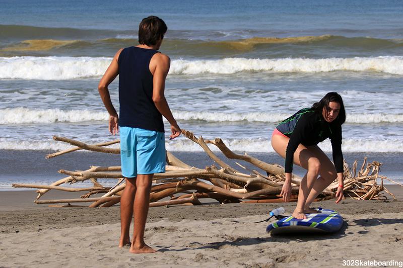 Clases de Surf para los asistentes