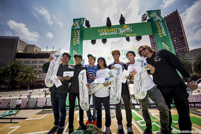 Antonio, Marco, Yael, Jairo, Alexis y Guli