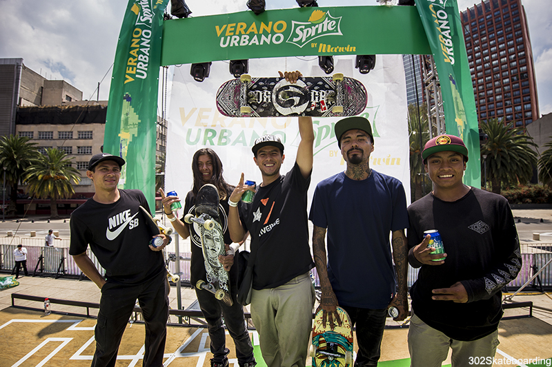 Litos, Hector, Nelson, Miguel y Luis