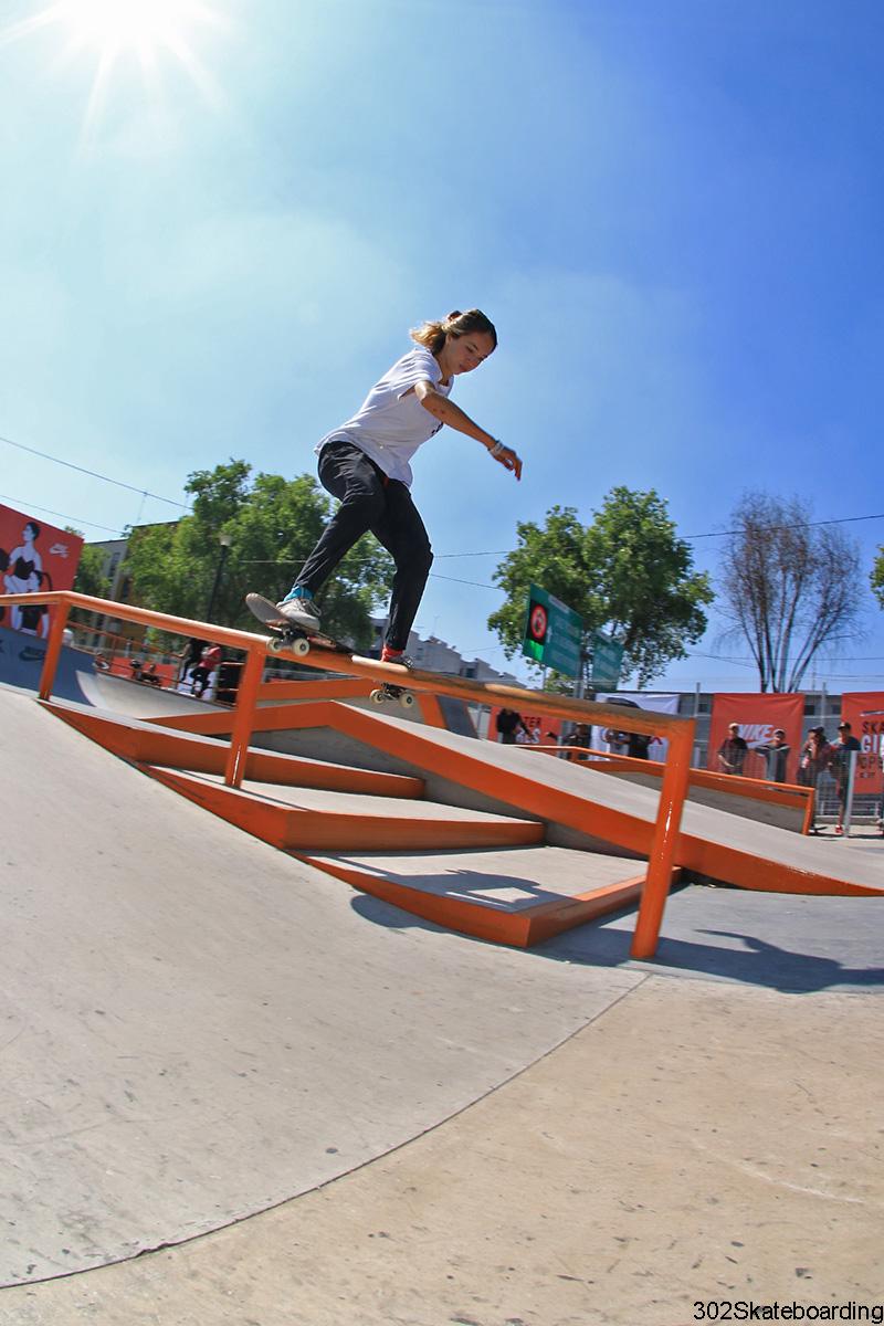 Andi Medina - boardslide