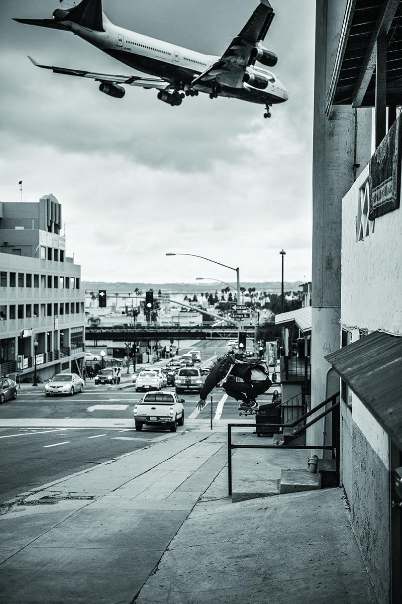 Ollie en San Diego