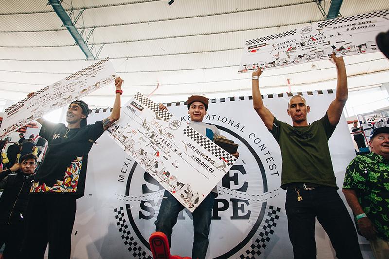 Ganadores JorgeSoto FernanOrigel Gustavosrevin Foto Perry Skegness