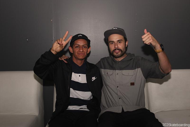 Roberto Bueno y Alejandro Torres
