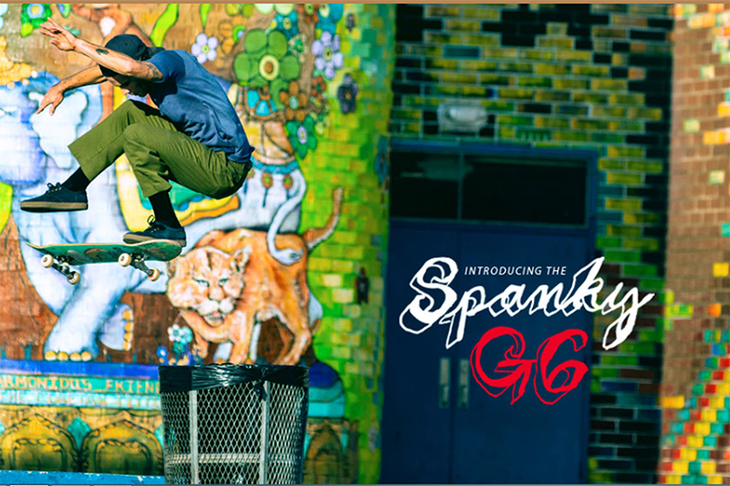 SPANKY ESTRENA MODELO PARA EMERICA «SPANKY G6»