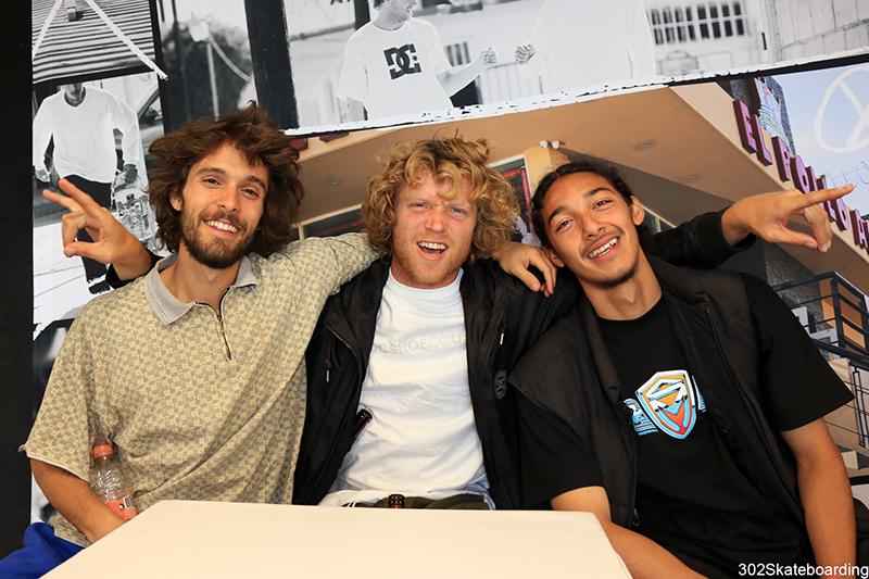John, Wes, Alexis