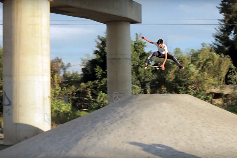 BOARDER GUILLERMO MARTINEZ