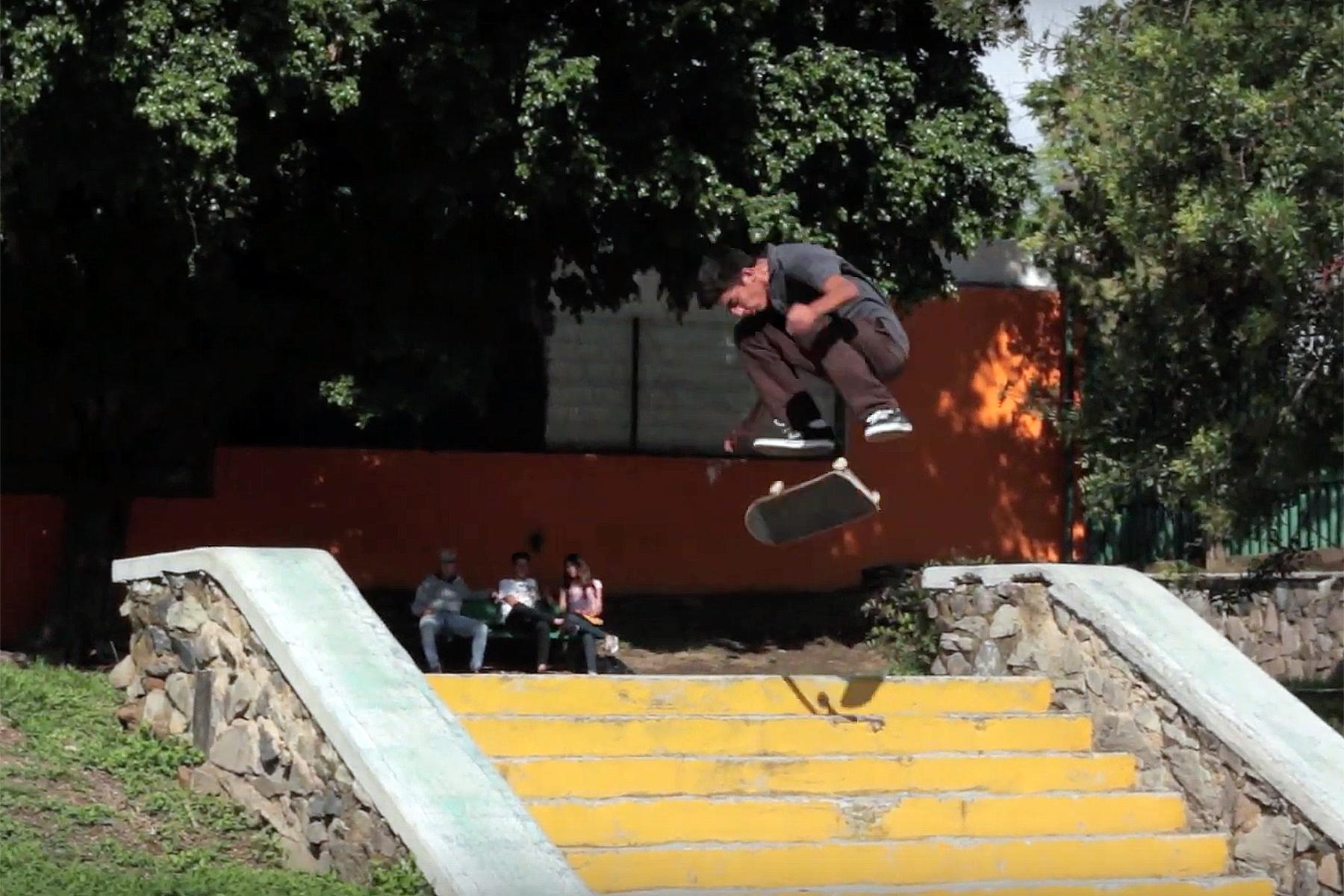 GUILLERMO MARTÍNEZ VIDEO PARTE BORDER SKATEBOARDS MÉXICO