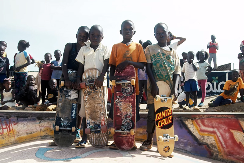 SKATE AID X UGANDA SKATEBOARD UNION