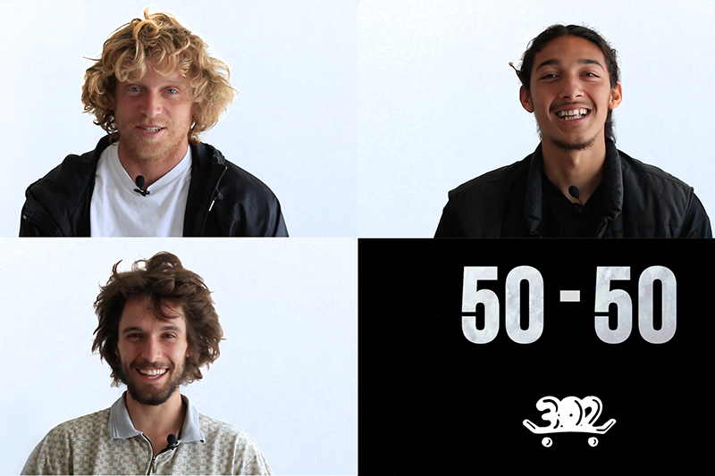 50-50 DC SHOES GLOBAL TEAM