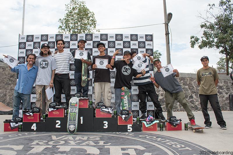 24 A podium