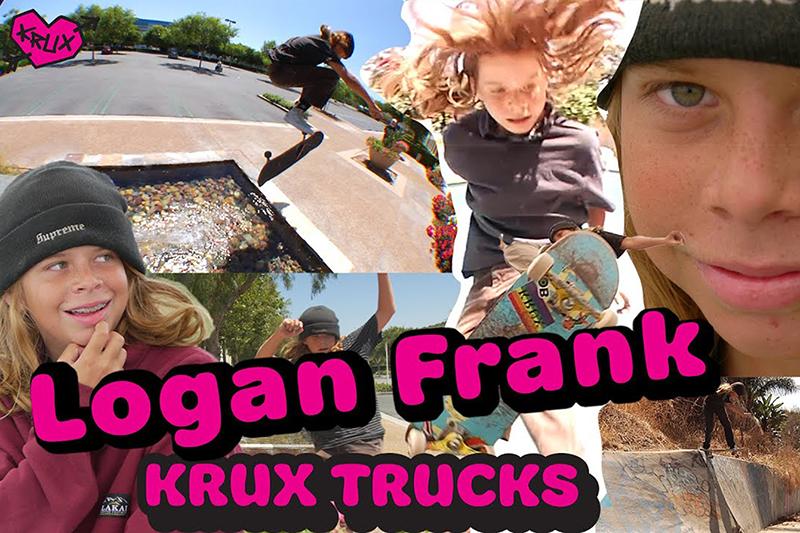 VÍDEO PARTE PARA KRUX TRUCKS, LOGAN FRANK