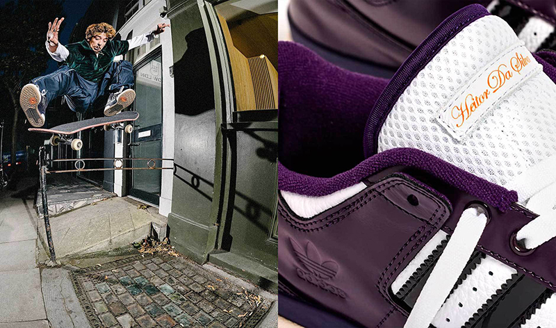 adidas SKATEBOARDING Y  HEITOR DA SILVA PRESENTAN FORUM 84 ADV